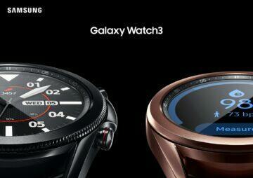 Samsung Galaxy Watch 3 okysličení krve