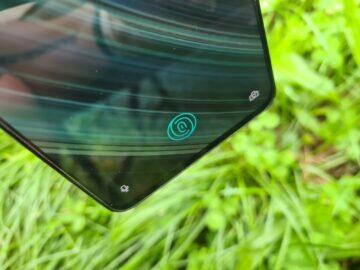 OnePlus Nord displej čtečka