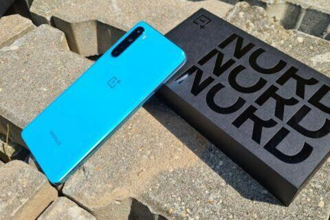 OnePlus Nord testování