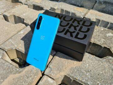 OnePlus Nord záda krabice