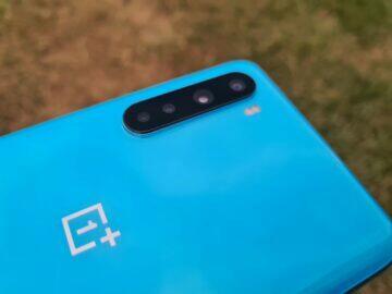 OnePlus Nord zadní kryt fotoaparáty modul