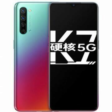 Oppo K7 5G oficiálně