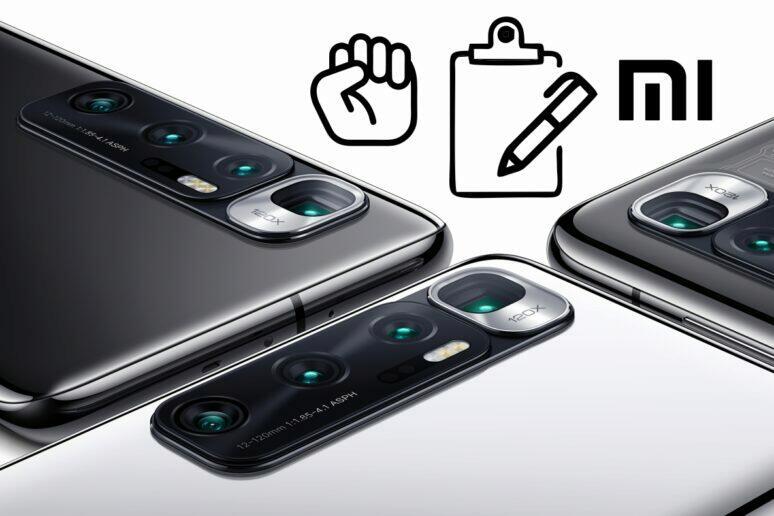 petice Xiaomi Mi 10 Ultra