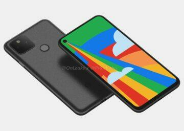 Pixel 5 na nových renderech Google