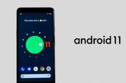 Poslední beta verze Android 11