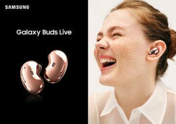 představení Samsung Galaxy Buds Live dámská