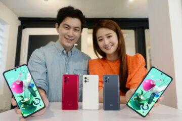 predstaveni telefonu LG Q92 5G