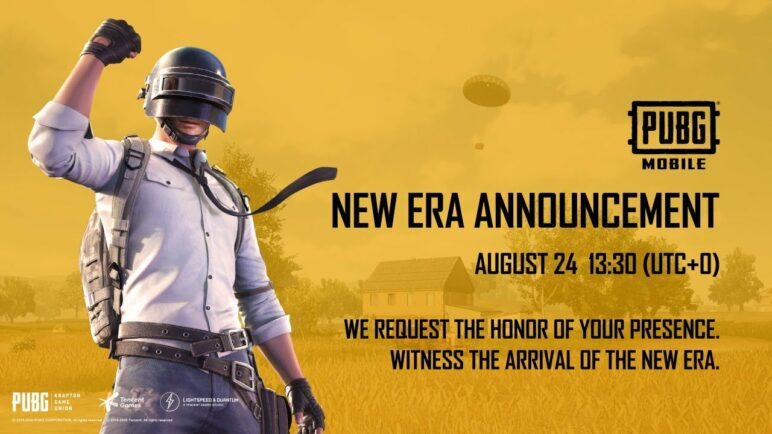PUBG MOBILE NEW ERA ANNOUNCEMENT
