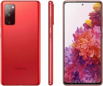 Samsung Galaxy S20 Fan Edition na Samsung webu