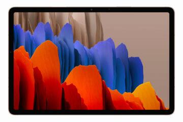 Samsung Galaxy Tab S7 Plus mystic bronze