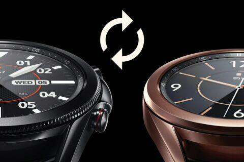 Samsung Galaxy Watch 3 první aktualizace