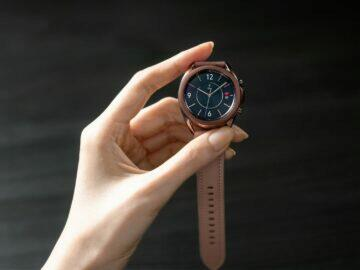 Samsung Galaxy Watch 3 v ruce