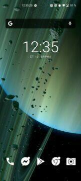 Saturn tapeta Xiaomi Mi 10 Ultra vertikální