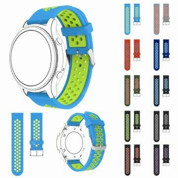 Silikonové 22mm řemínky pro hodinky barvy