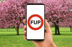 ušetřit mobilni dat fup