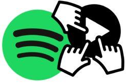 Spotify skupinová relace návod