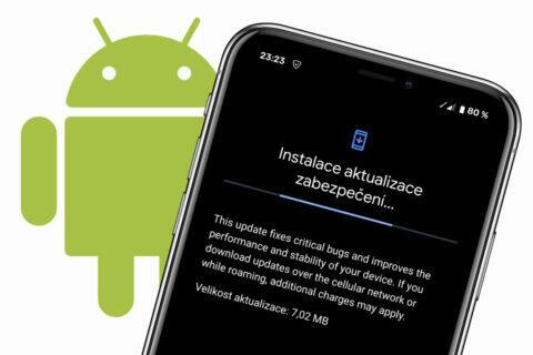 srpnova aktualizace androidu