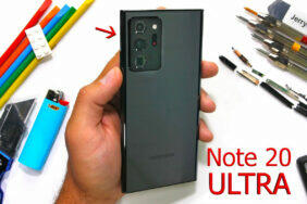 test odolnosti galaxy note 20 ultra