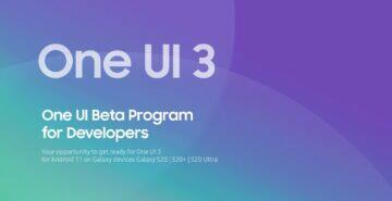 testování One UI 3 pozvánka