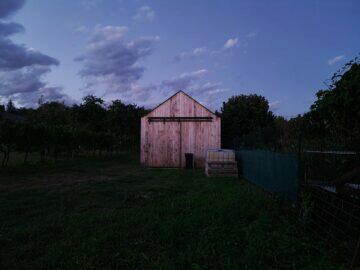 večer stodola noční režim