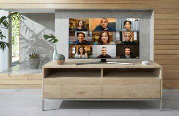 videohovor přes televizi