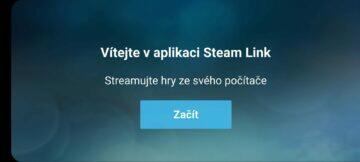 vítejte ve Steam Link