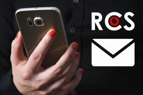 Vodafone RCS Chat zahájení