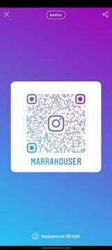 vyhledávání sledování instagram qr kód barvy