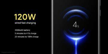 Xiaomi Mi 10 Ultra baterie nabíjení