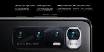 Xiaomi Mi 10 Ultra specifikace fotoaparáty