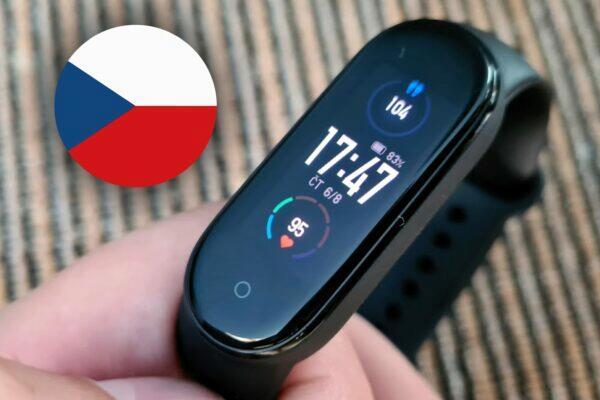 Xiaomi Mi Band 5 čeština