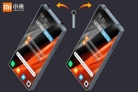 Xiaomi telefon s vestavěnými sluchátky