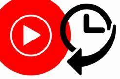 YouTube Music Nedávná aktivita historie
