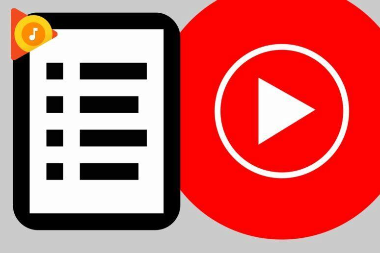 YouTube Music skladby interpreta v knihovně