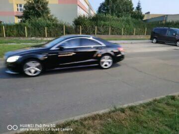 zachycení pohybu auta