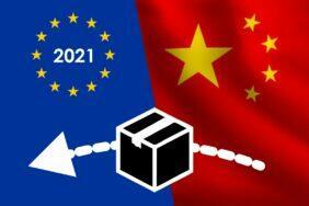 zásilky z Číny 2021