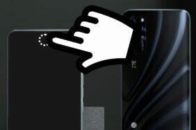ZTE Axon 5G s neviditelným foťákem