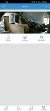 aplikace hlavní stránka