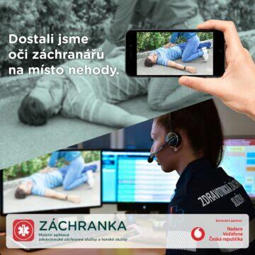 aplikace Záchranka videohovory ukázka