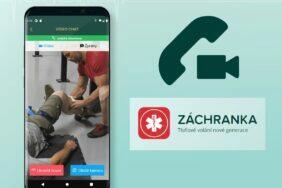 aplikace Záchranka videopřenosy