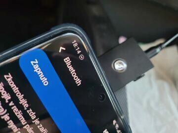 Bluetooth vysílání receiver