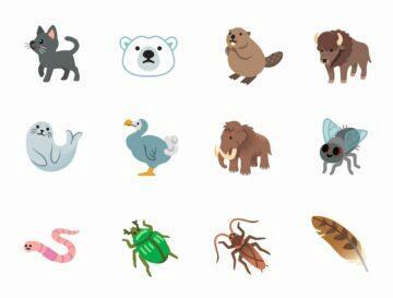 emoji zvířata