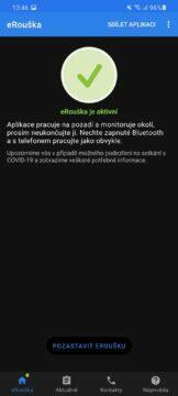 eRouška 2.1 aktivní