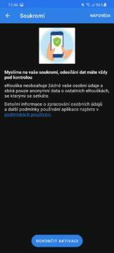 eRouška 2.1 soukromí