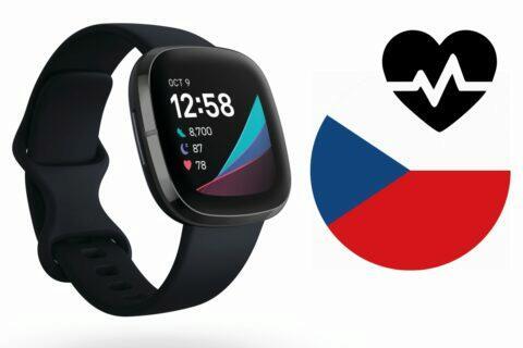 Fitbit Sense EKG ČR
