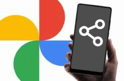 Fotky Google nabídka pro sdílení