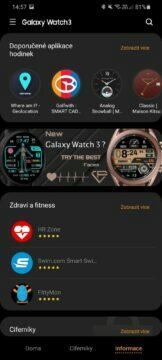 Galaxy Wearable Galaxy Store