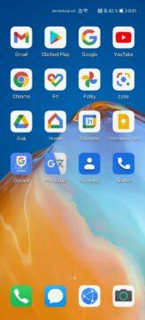 Google aplikace služby Huawei ukázka