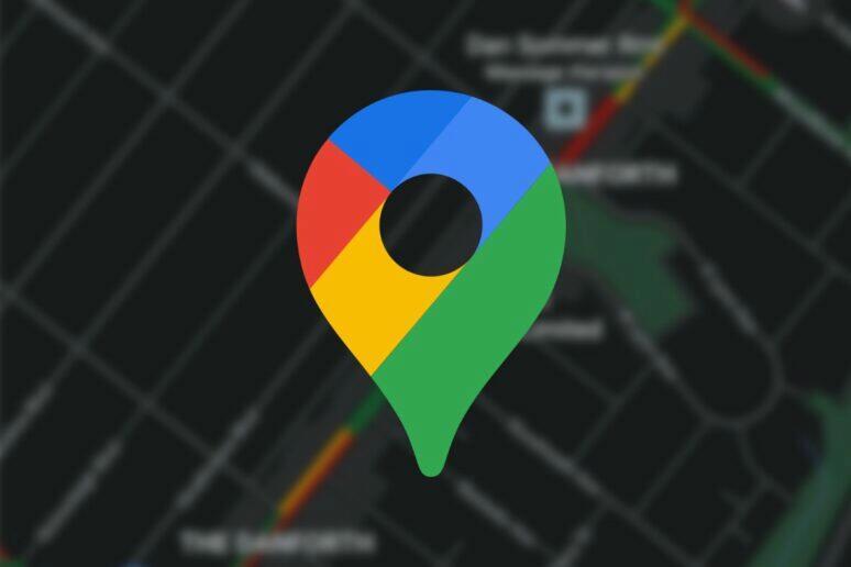 google mapy tmavy rezim