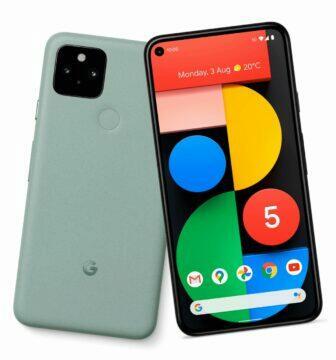 google pixel 5 mentolová varianta